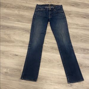 7 for all Mankind Kimmie Straight leg jeans 28